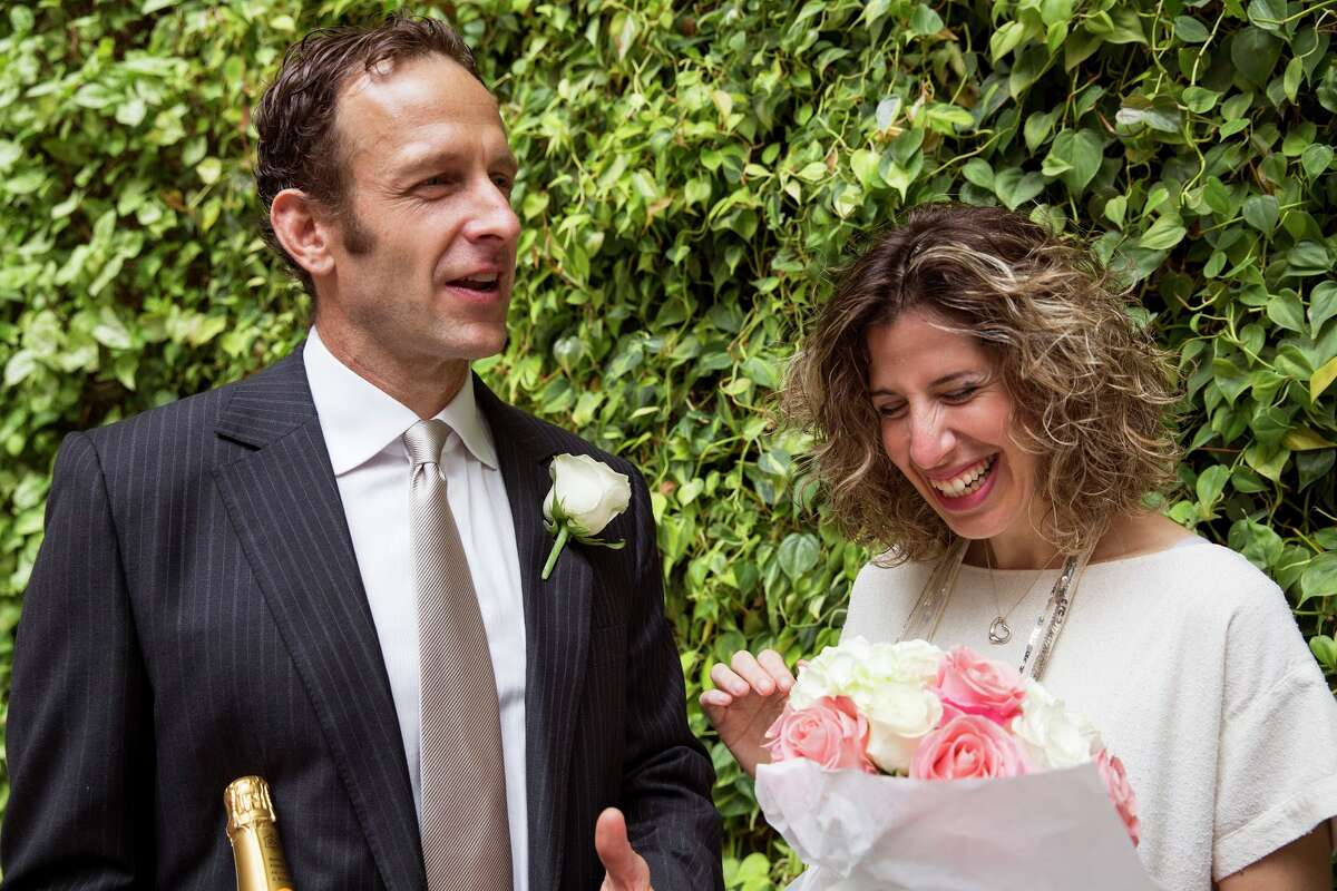 Ben and Noa got married at Airbnb Headuarters at 888 Brannan in San Francisco on July 6, 2016.