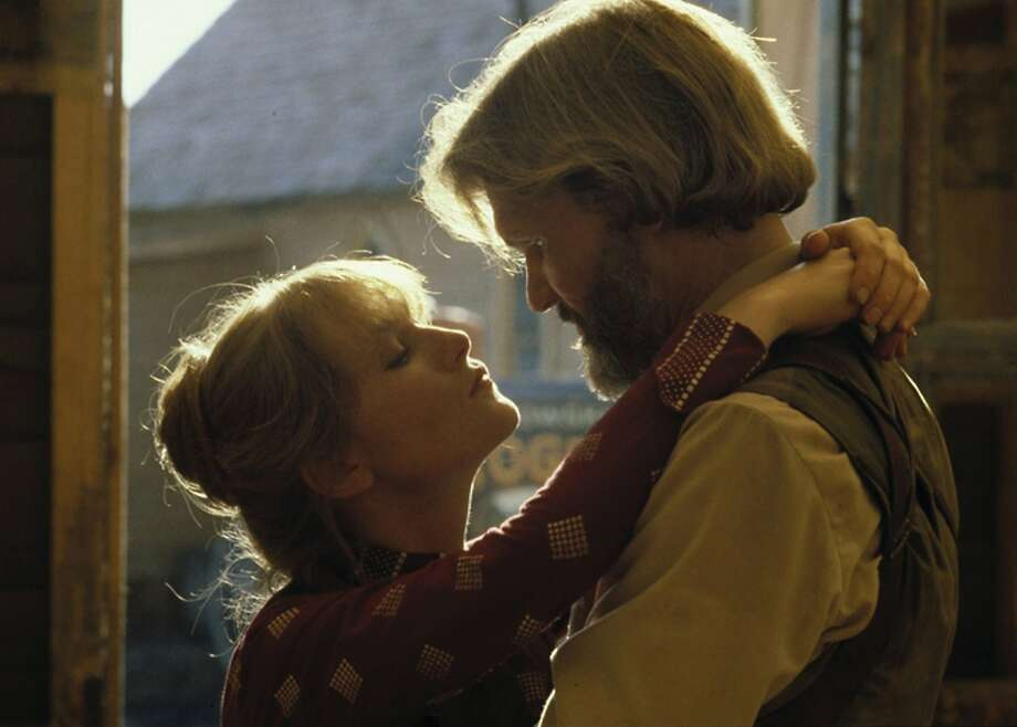 """Isabelle Huppert (left) and Kris Kristofferson (right) in Michael Cimino's """"Heaven's Gate."""" Photo: MGM Home Entertainment"""