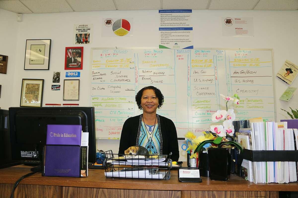 Berkeley Tech Academy Principal Sheila Quintana established a restorative just program at the school.