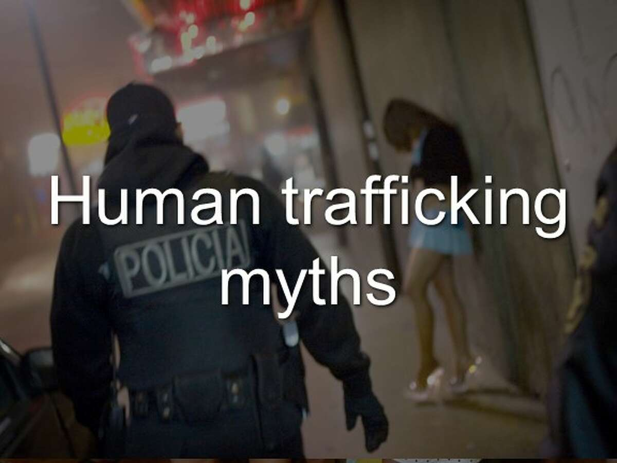 There are many myths about human trafficking. Click through the slideshow to separate the facts from the myths.