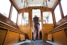 Singh Rai begin his ring off at the 53rd Annual Cable Car Bell Ringing Contest on Thursday, July 7, 2016 in San Francisco, California.