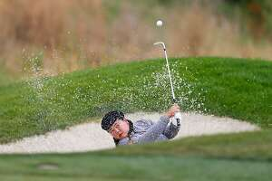 SAN MARTIN, CA - JULY 07:  Christina Kim of the United States hits out of the bunker on the 15th hole during the first round of the U.S. Women's Open at CordeValle Golf Club on July 7, 2016 in San Martin, California.  (Photo by Jonathan Ferrey/Getty Images)
