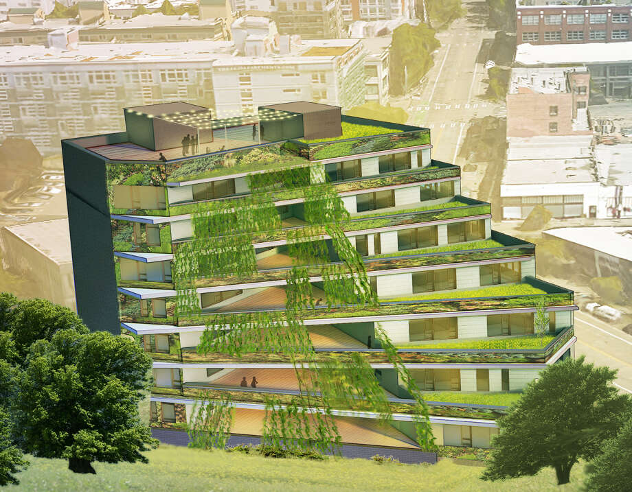 Terraced Building Design A Standout Among Urban Growth