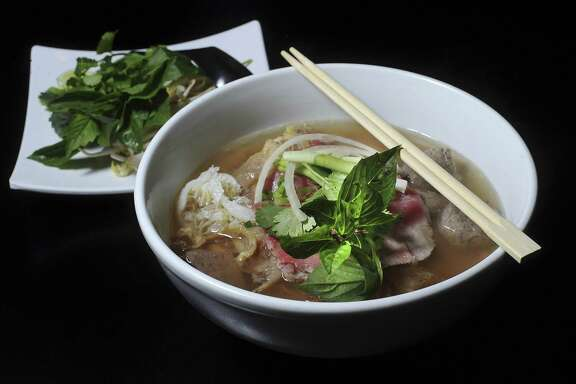 Special combination pho at Heavenly Pho