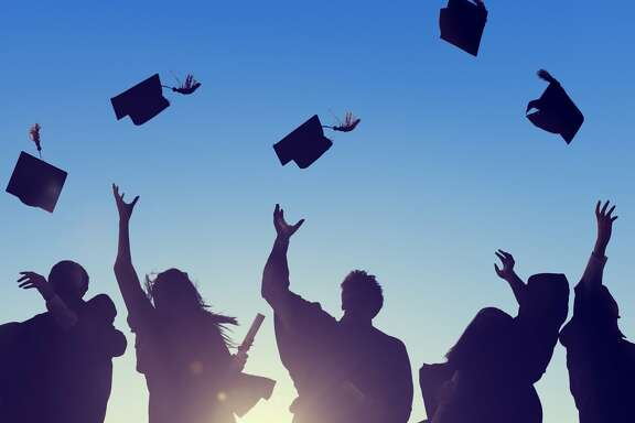 Graduation can be both exciting and scary. How do you navigate life after college? Here are some podcasts that can help. (Fotolia)