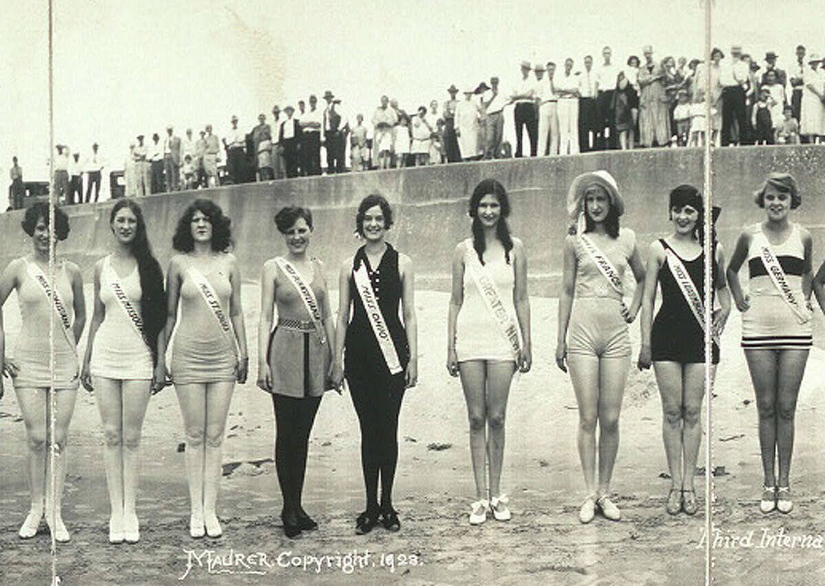Third International Pageant of Pulchritude and Ninth Annual Bathing Girl Revue, June 1928 in Galveston, Texas. Source: Library of Congress