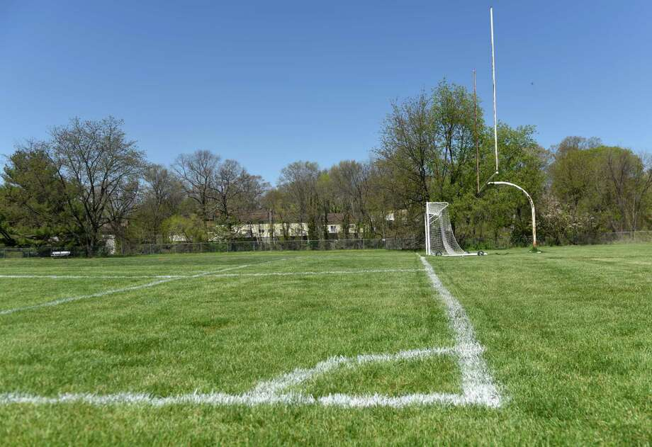 The athletic playing fields at Western Middle School in Greenwich. Photo: Tyler Sizemore / Hearst Connecticut Media / Greenwich Time