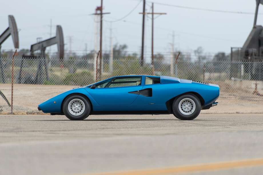 1976 Lamborghini Countach LP 400 'Periscopio' To be auctioned on Saturday, August 15, 2015 $1,500,000 - $2,000,000