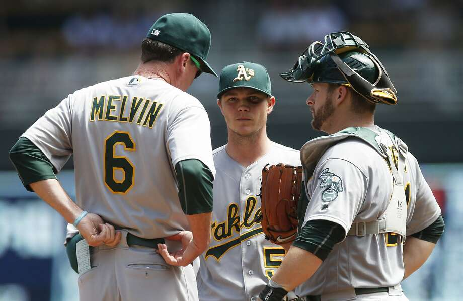 Sonny Gray is having a down  season and his trade value is not at its highest. Photo: Jim Mone, Associated Press