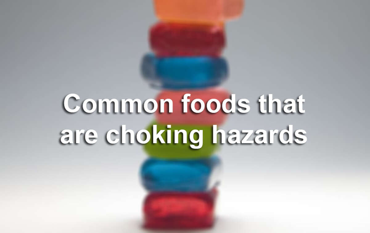 Click through to see some common foods that could easily choke a child, according to choosemyplate.gov.