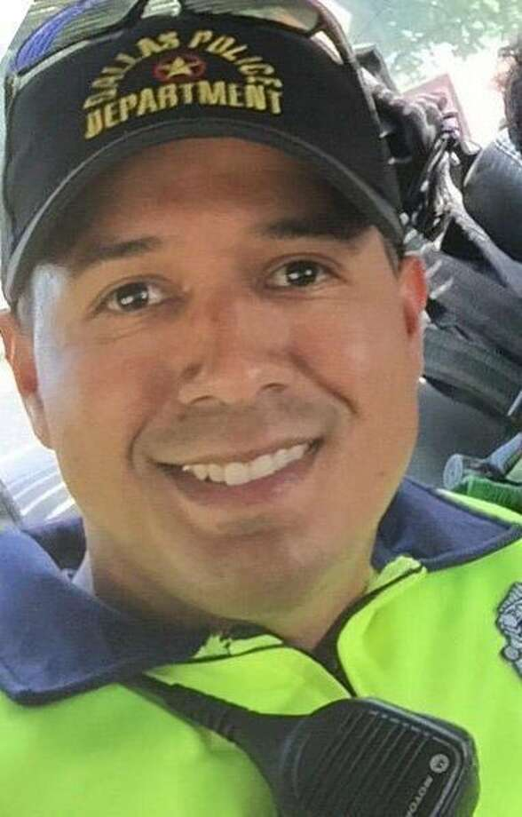 Patrick Zamarripa was one of five officers killed in a shooting incident in Dallas, Texas.  Photo: Family Photo, The Washington Post