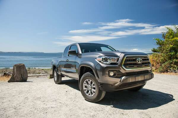 Midsize trucks are making big strides in the best-selling pickup truck segment, and despite the return of the Chevy Colorado and GMC Canyon, we prefer the Tacoma for its versatility, practicality and off-road capability. And the bed is great for camping or a night at the drive-in. (Photo courtesy Toyota/TNS)