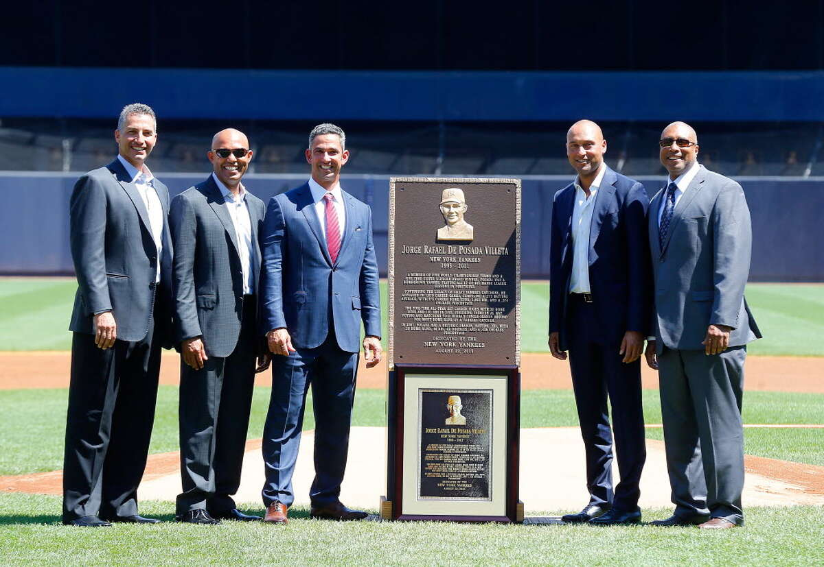 Played here: Derek Jeter, Mariano Rivera, Jorge Posada and Andy Pettitte. The
