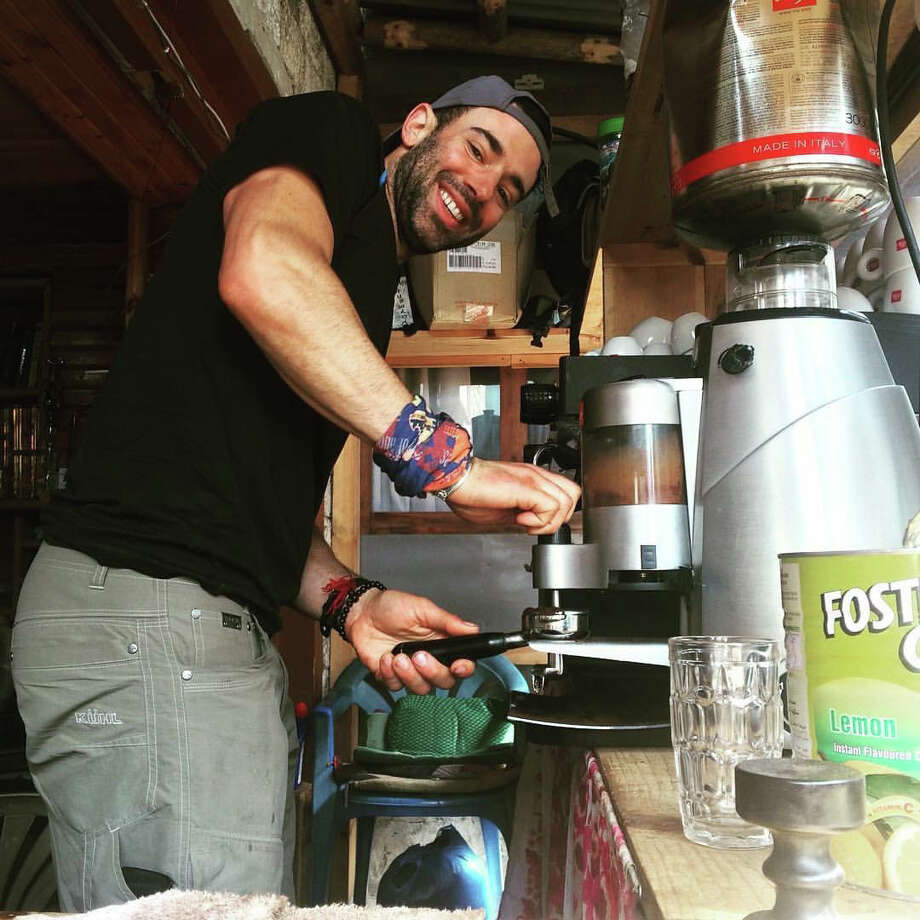 Raus Coffee founder Donny Raus Photo: Contributed Photo