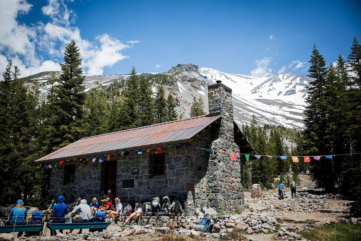 The Sierra Club's Horse Camp on Mt. Shasta, June 29, 2016.