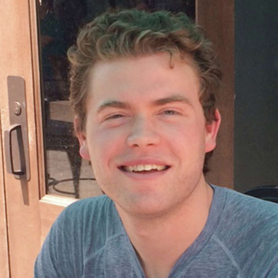 """Thomas Marrs, 27, of The Woodlands who recently graduated from Houston College of Law, said:""""I got a text last night from one of my friends that said, 'So are we gonna have another Civil War?' I was just glued to the TV like, 'Is this really happening?' ... It was like something out of an action movie that you couldn't believe it was going on. You see these things and it's like Baltimore, St. Louis or Oakland, that area is notorious, but for it to happen here ... it was surreal. Their first instinct is to strike back and lash out and now they have an excuse for it. I think that's just gasoline on an already burning fire."""" Photo: Bridget Balch / Houston Chronicle"""