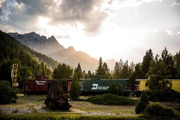 Railroad Park Resort in Dunsmuir, California, June 29, 2016.