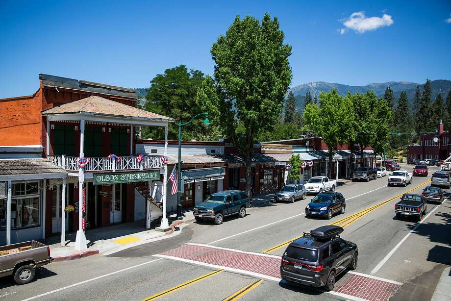 The historic town of Weaverville in Trinity County. Photo: Max Whittaker/Prime, Special To The Chronicle