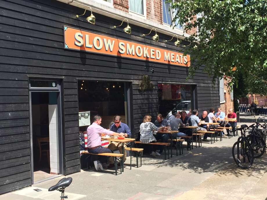 Dallas native Joe Walters opened Texas Joe's Slow Smoked Meats in London on July 4, 2016. Photo: Courtesy Of Texas Joe's