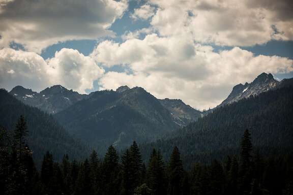 The Trinity Alps near Weaverville, California, June 30, 2016.