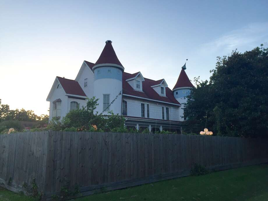 The Queen Anne Victorian-style home is currently being leased out for private events. Photo: Darla Guillen/Houston Chronicle