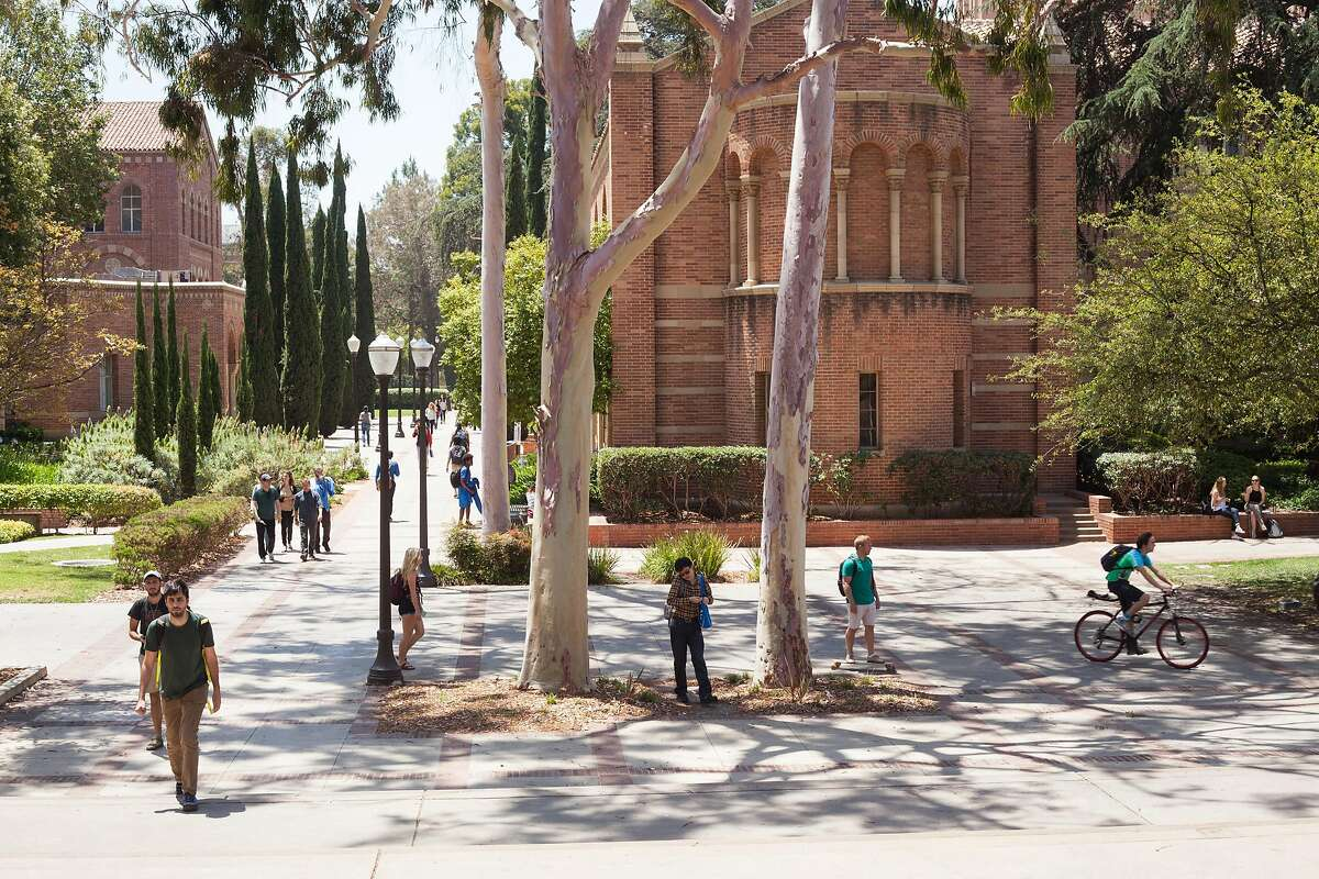 The campus at UCLA, part of a state university system admitting more and more out-of-state and foreign students in a constant hunt for revenue, in Los Angeles, June 2, 2016. A state audit in March reinforced what many parents already suspected: the prestigious University of California system is giving favorable admissions treatment to non-Californians. (Brad Torchia/The New York Times)