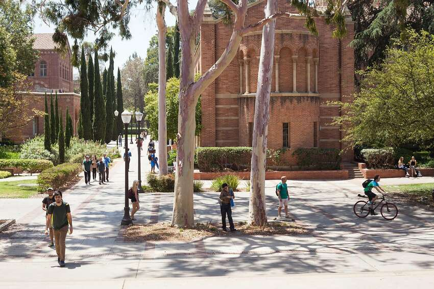 The campus at UCLA, as at UC Berkeley, is increasingly becoming populated by out-of-state students who pay a premium to attend.