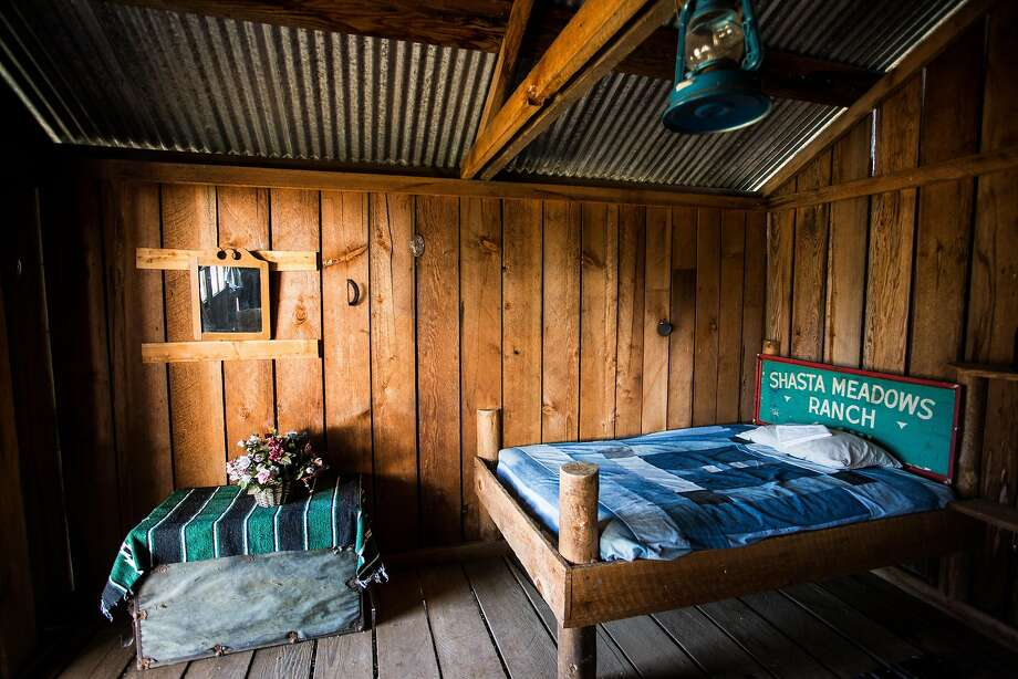 A guest cabin at the Wild Horse Sanctuary camp in Shingletown, California, July 2, 2016. Photo: Max Whittaker, Special To The Chronicle