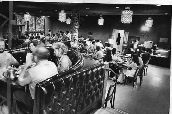 GOLDENDRAGON-5 SEPT77 INTERIOR OF THE GOLDEN DRAGON RESTAURANT, SCENE OF MASS MURDER IN WHICH 5 DIED.  photo by Terry Schmidt on SEP, 4, 1977. Photo ran 09/05/1977, P, A1