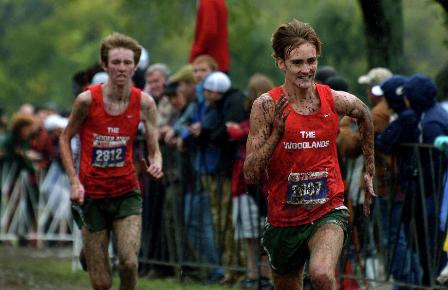 The Woodlands' boys cross country state championship victory helped the school rank 2nd in the prestigious Lone Star Cup. Photo: Jerry Baker, For The Houston Chronicle