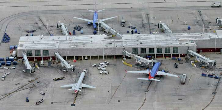 Aerial view of San Antonio International Airport Terminal A on May 20. San Antonio was ranked as the 56 th  most affordable airport — Austin was twenty spots better, at 33 rd . This can change.