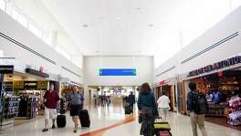 New Terminal B gates area the San Antonio International Airport Wednesday June 3, 2015. A reader says the city doesn't need a new airport.