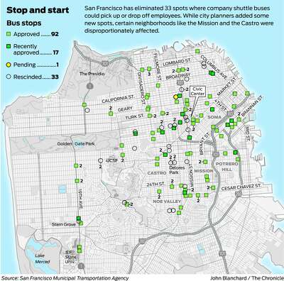 More tech workers driving solo after SF cuts shuttle stops  San