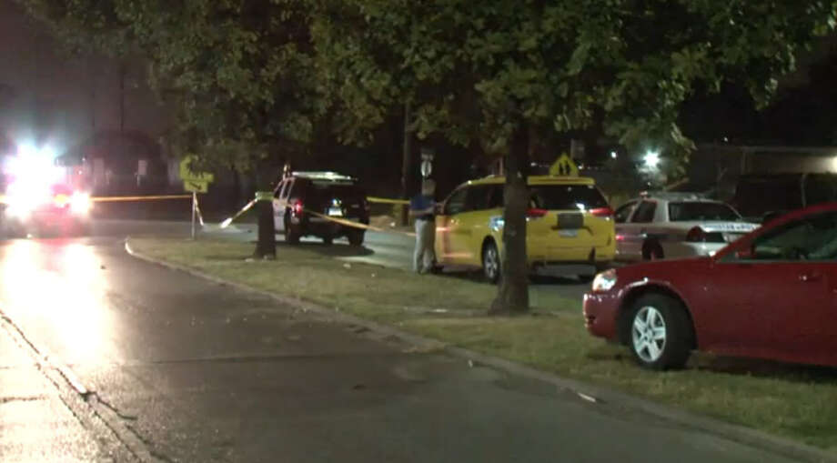 An armed man who associates say was searching for a stolen horse overnight on Houston's south side was shot dead by police after waving a gun when he was approached by two officers, authorities said. Photo: Metro Video