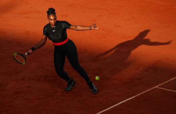 "02756d28219 Serena Williams delivered an overhead smash after retired tennis great John  McEnroe s weekend interview claiming that she  d only ""rank like 700 in the  ..."