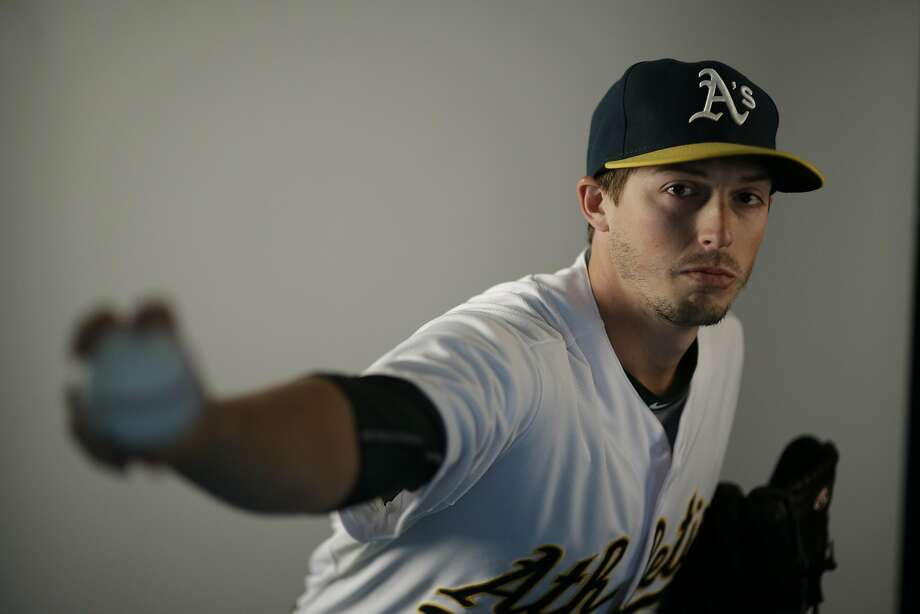 This is a 2016 photo of Ryan Dull of the Oakland Athletics baseball team. This image reflects the Oakland Athletics active roster as of Monday, Feb. 29, 2016, when this image was taken. (AP Photo/Chris Carlson) Photo: Chris Carlson, AP