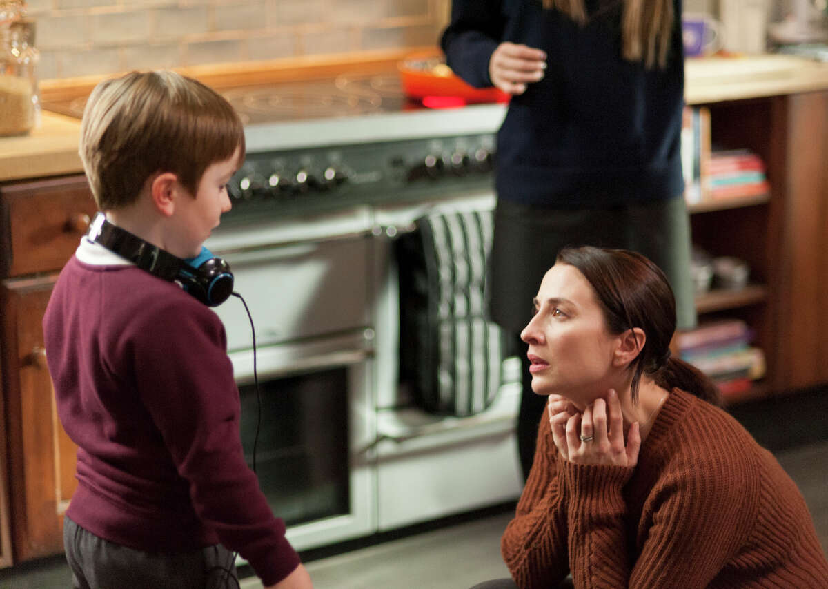 Max Vento is Joe Hughes, a 5-year-old with autism, and Morven Christie is his mother in