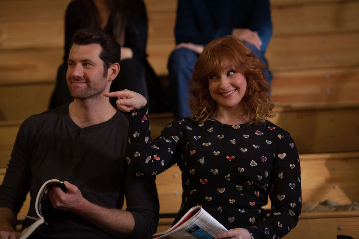 Billy Eichner (left) and Julie Klausner created and star in