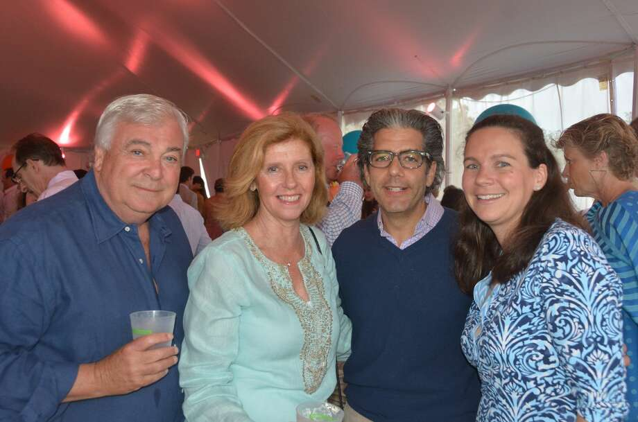 The Greenwich Point Conservancy held its annual Beach Ball on July 9, 2016. Guests enjoyed cocktails, dinner, dancing and auctions on the seaside bluff overlooking the Manhattan skyline. Were you SEEN? Photo: Vic Eng / Hearst Connecticut Media Group
