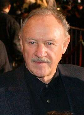 ** FILE ** Actor Gene Hackman is shown Dec. 6, 2001, in Los Angeles. The Hollywood Foreign Press Association, which hosts the Golden Globe Awards ceremony, announced Thursday, Nov. 14, 2002, that Hackman, 72, will receive the Cecil B. DeMille Award at the 60th annual Golden Globe Awards, Sunday, Jan. 19, 2003. (AP Photo/Chris Pizzello)  HOUCHRON CAPTION (11/16/2002):  Hackman.