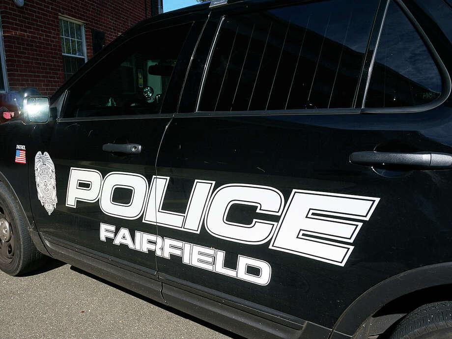 File photo of Fairfield Police car Photo: Fairfield Citizen / File Photo / Fairfield Citizen
