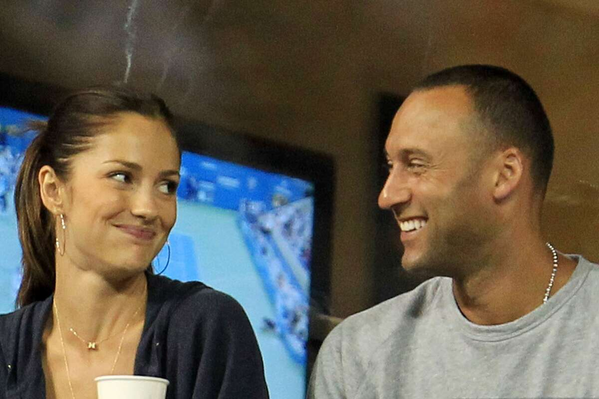 """Minka Kelly Jeter dated the 'Friday Night Lights' star for at least three years, and there were even rumors of an pending nuptials in 2010 - the same year Esquire named her """"The Sexiest Woman Alive."""" Kelly rode with Jeter on a float in the Yankees' 2009 championship parade and wasthere with Jeter's family on the historic day he got his 3,000th hit in July 2011. The couple officially announced their breakup in August 2011."""