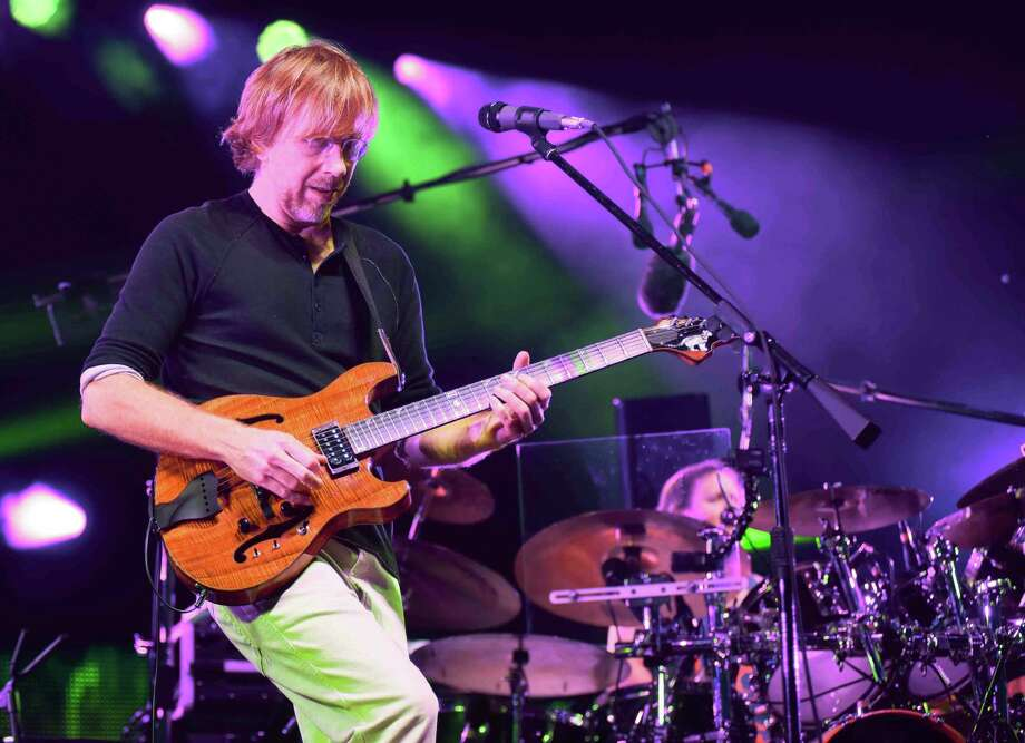 The Vermont-based, four-man jam band Phish played at the Xfinity Theater in Hartford on Saturday, July 9, 2016. Photo: John Nash, Hearst Connecticut Media / Norwalk Hour