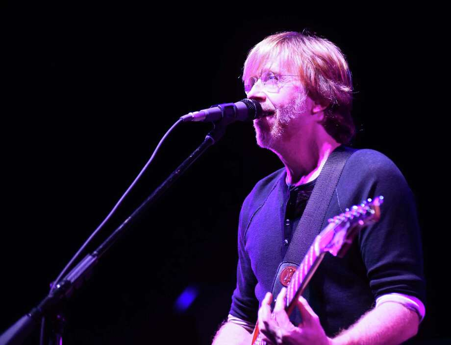 The Vermont-based, four-man jam band Phish played at the Xfinity Theater in Hartford on Saturday, July 9, 2016. Photo: John Nash / Hearst Connecticut Media / Norwalk Hour