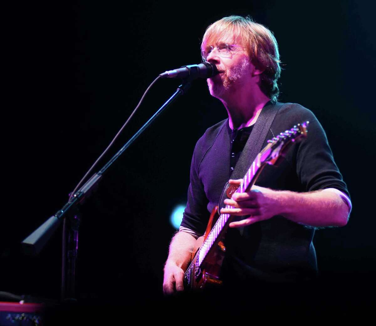 The Vermont-based, four-man jam band Phish played at the Xfinity Theater in Hartford on Saturday, July 9, 2016.