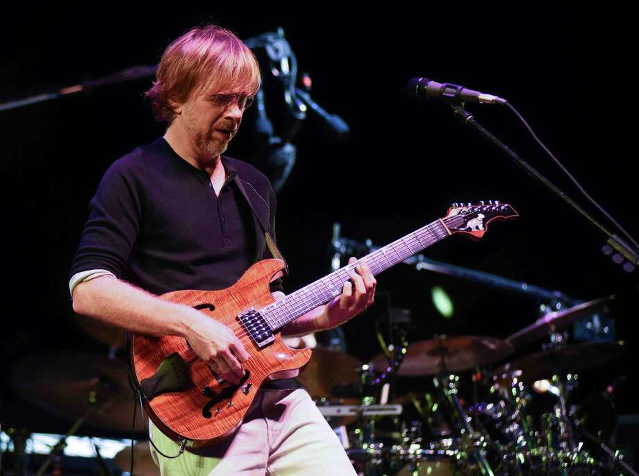 The Vermont-based, four-man jam band Phish, seen here, played at the Xfinity Theater in Hartford on Saturday, July 9, 2016. Photo: John Nash / Hearst Connecticut Media / Norwalk Hour