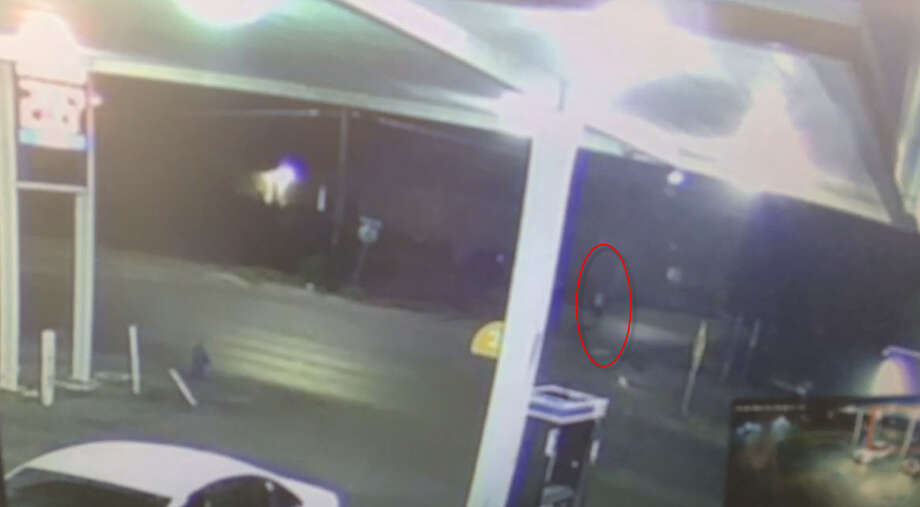 Surveillance video shows man shot by Houston police