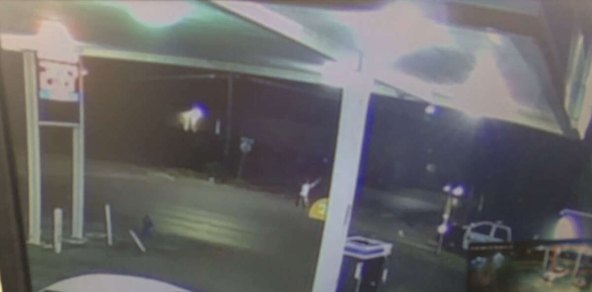 An armed man who associates say was searching for a stolen horse overnight on Houston's south side was shot dead by police after waving a gun when he was approached by two officers, authorities said.