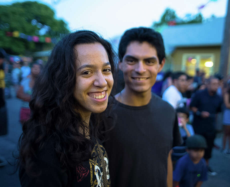 Members of the West Side community showed up for fun and live music Saturday and partied late into the evening during the annual Friendship Festival and Street Dance Saturday, July 9, 2016. Photo: By B. Kay Richter, For MySA.com