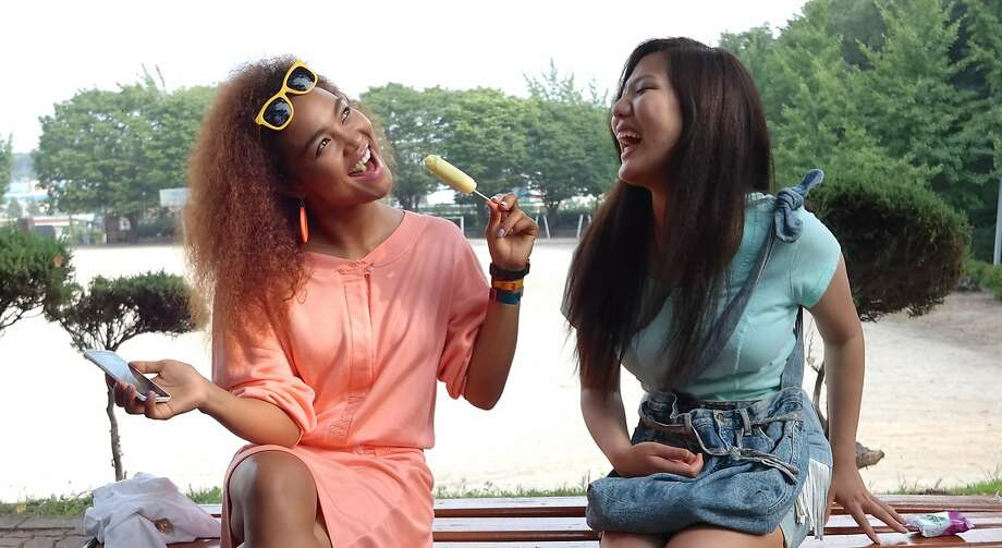 "Crystal Kay (left) and Rosalina Leigh in ""Seoul Searching,"" a John Hughes-inspired comedy-drama by Benson Lee. Photo: Bowery Hills Entertainment"